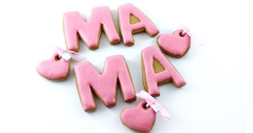 надпись для мамы
