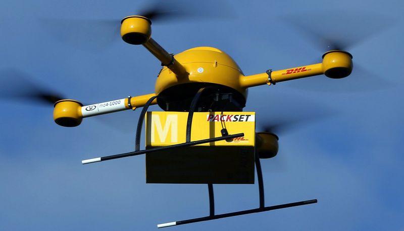 Доставка с использованием беспилотных летательных аппаратов
