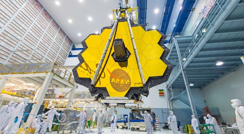 Телескоп James Webb Space Telescope