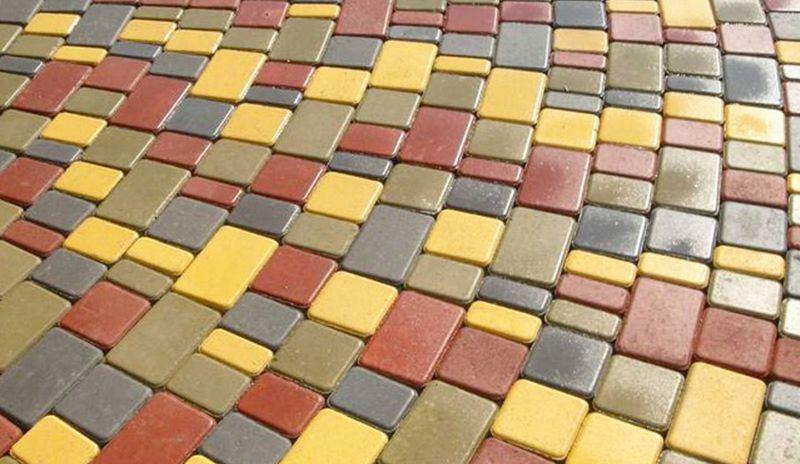 Вибролитьевая тротуарная плитка