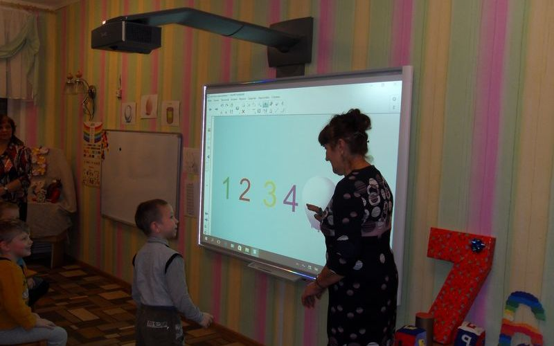 Урок математики с помощью мультимедиа технологии