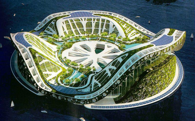 Lilypad - плавающий город