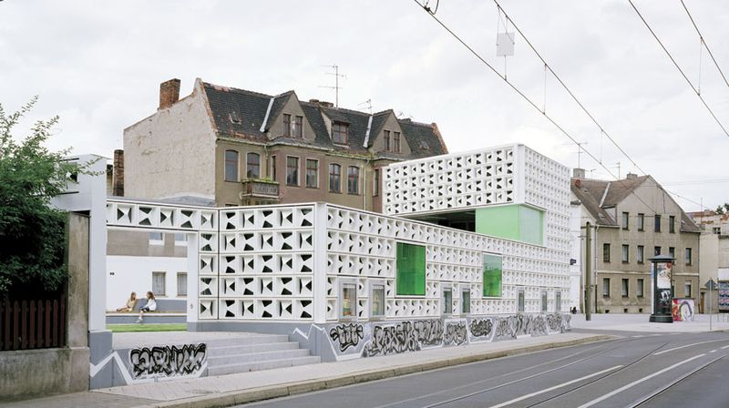 Уличная библиотека в Магдебурге