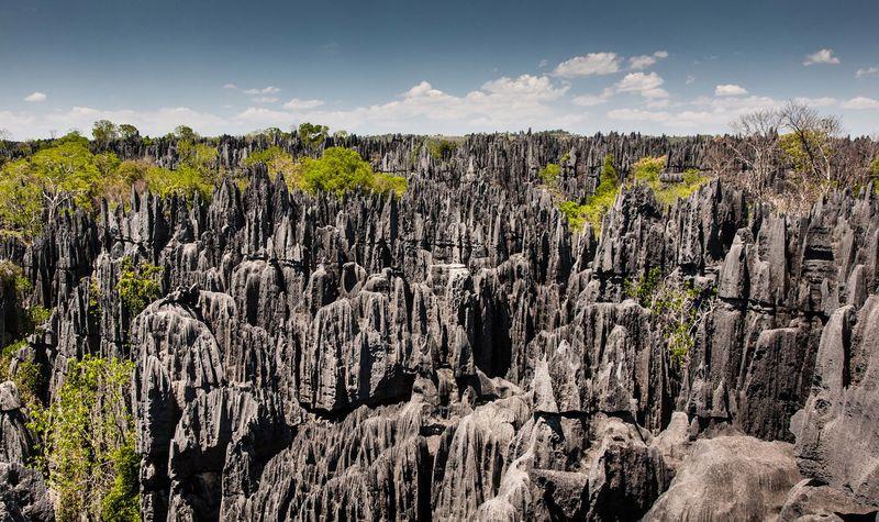 Цинги де Бемараха, Мадагаскар