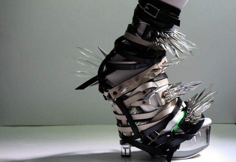 Туфли пугающие