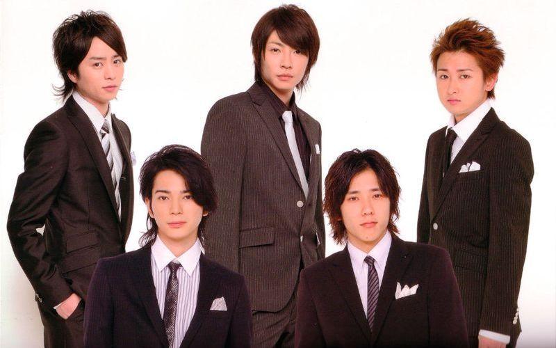 Японская музыкальная группа Arashi