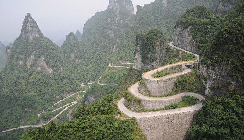 Тьяйменская дорога в Китае
