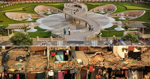 Роскошь и нищета индийского государства