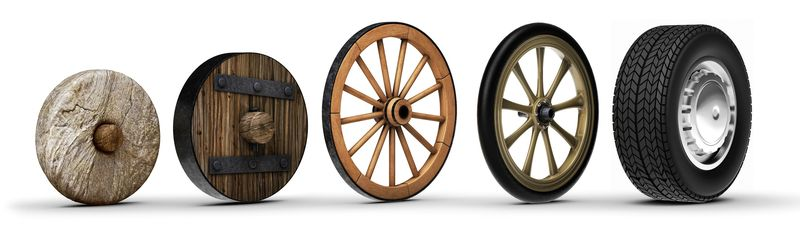 Совершенствование колеса