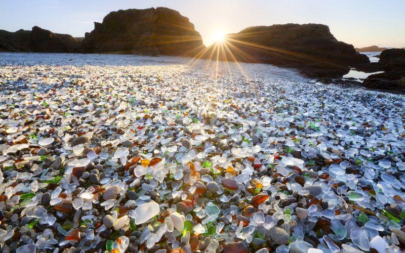 Стеклянный пляж (Калифорния)
