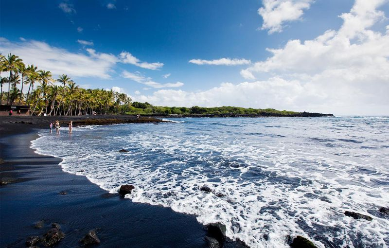 Пляж Пуналуу (Гавайи)