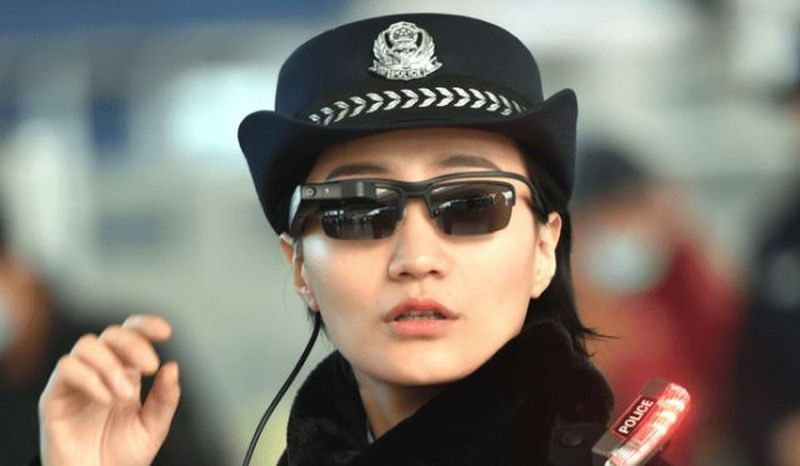 Smart glasses for the police