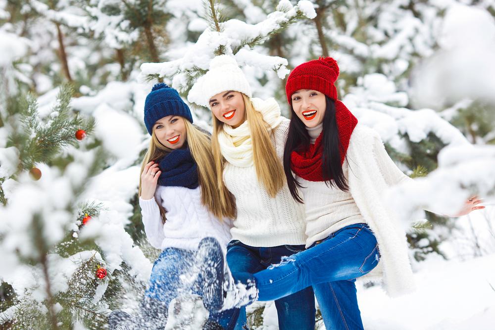 три приятельницы