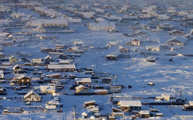 Город Оймякон, Якутия