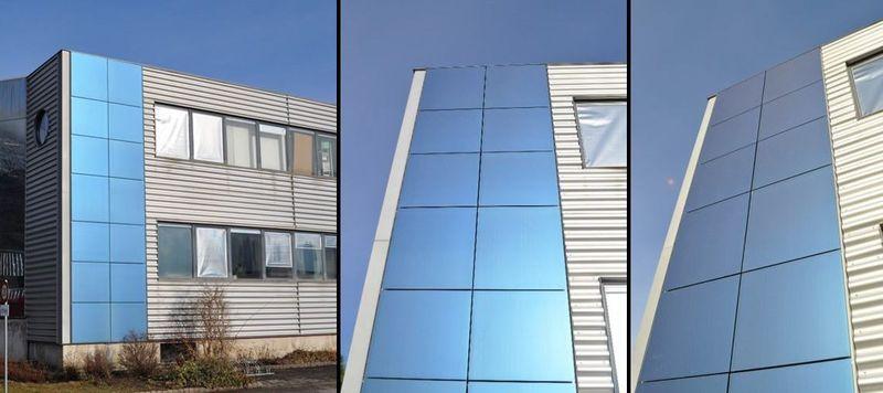 Устройство солнечных панелей на стенах дома