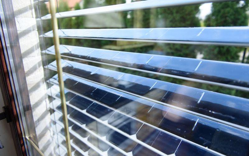 Окна с фотоэлементами