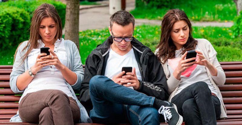 Зависимость от мобильных телефонов