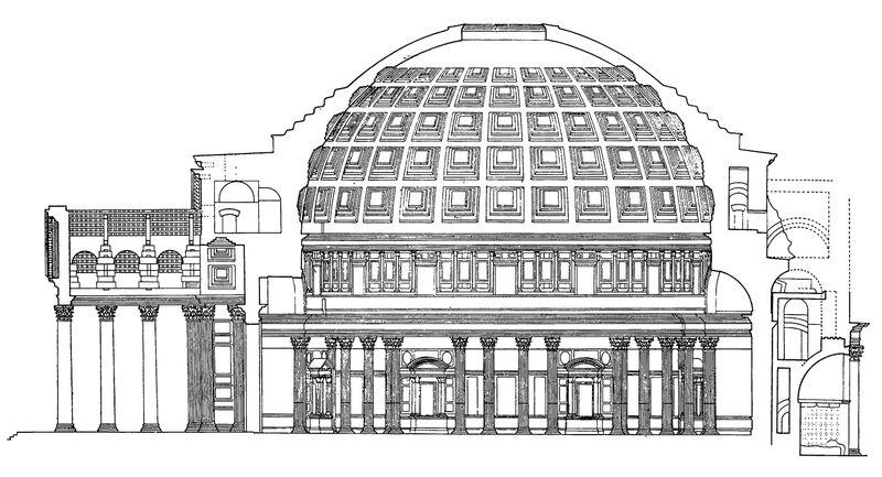 Устройство древнеримского храма