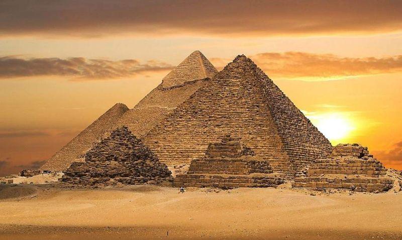 Технология строительства пирамид в древнем Египте