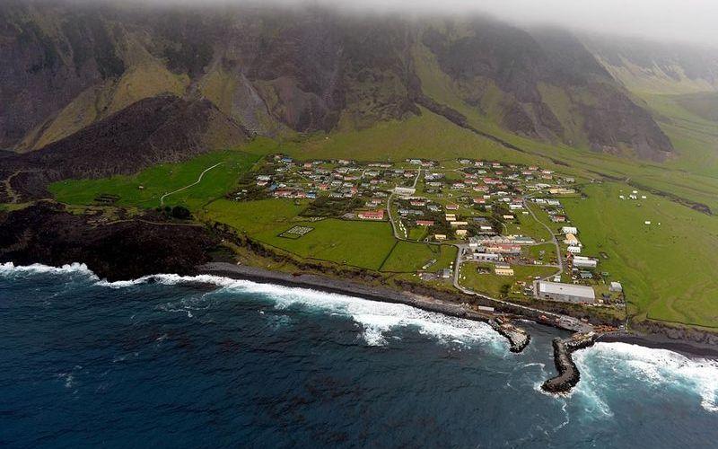 Поселение на острове Тристан да Кунья