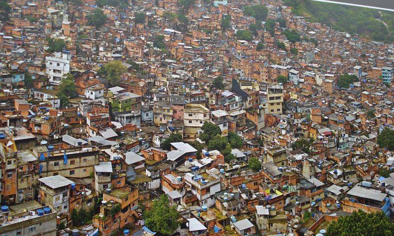 Бразильские трущебы фавелы