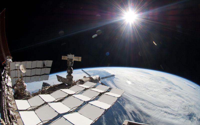 Снимок Солнца из космоса