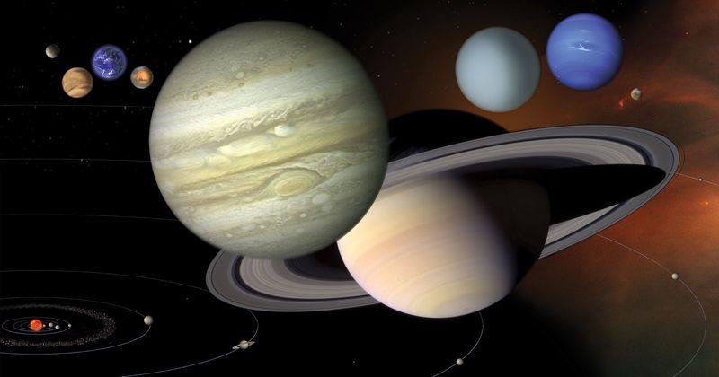 Удивительное путешествие по Солнечной системе