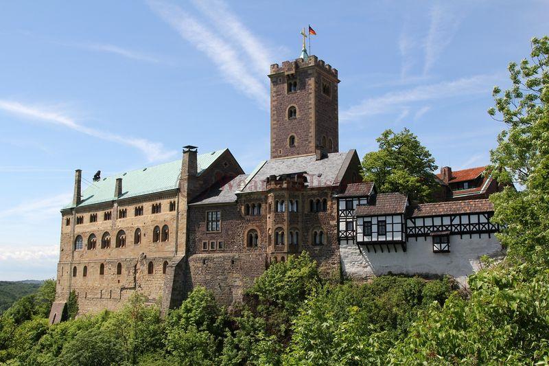 Мистический замок Вартбург