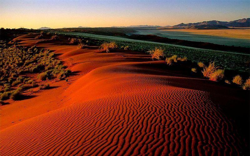 Песчаные дюны Соссусфлей
