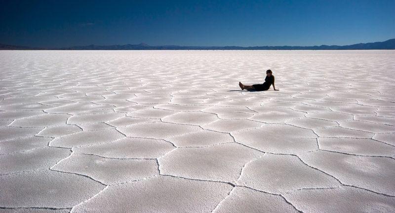Соляная пустыня Салинас Грандес