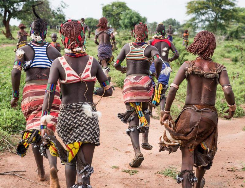 Женщины племени Хамар