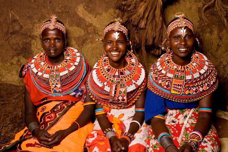 Женщины племени Банту