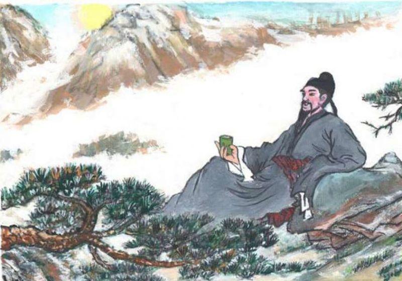 Китайский поэт Ли Бо