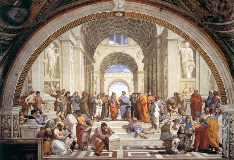 Собрание в древней Греции