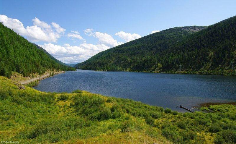 Мертвое озеро Казахстана