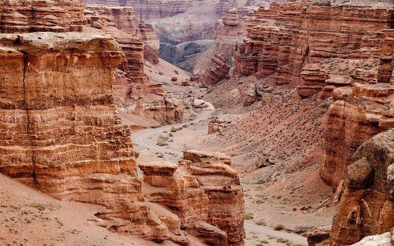 «Большой каньон» Казахстана