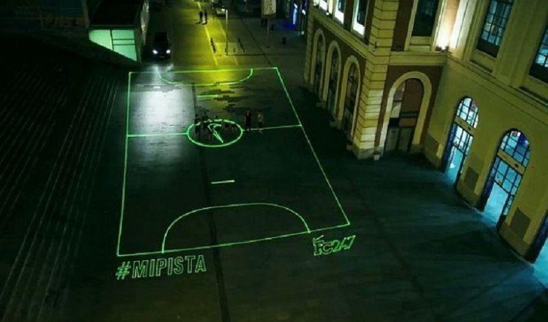 Лазерное футбольное поле «NIKE»