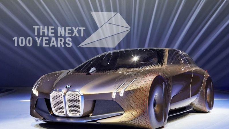 BMW iNext - электрический самоуправляемый флагман, дата выпуска - 2021 год