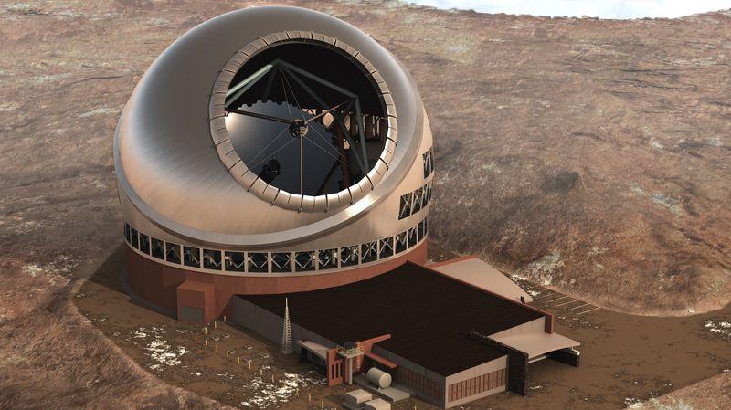 Огромный телескоп