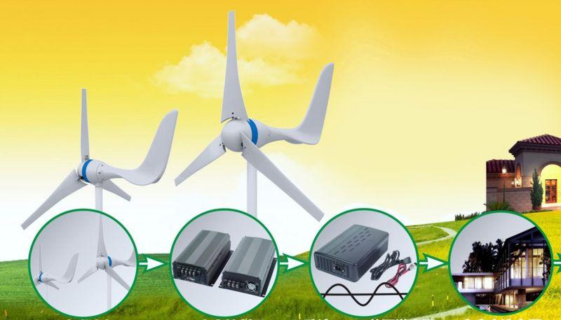 Домашние ветрогенераторы