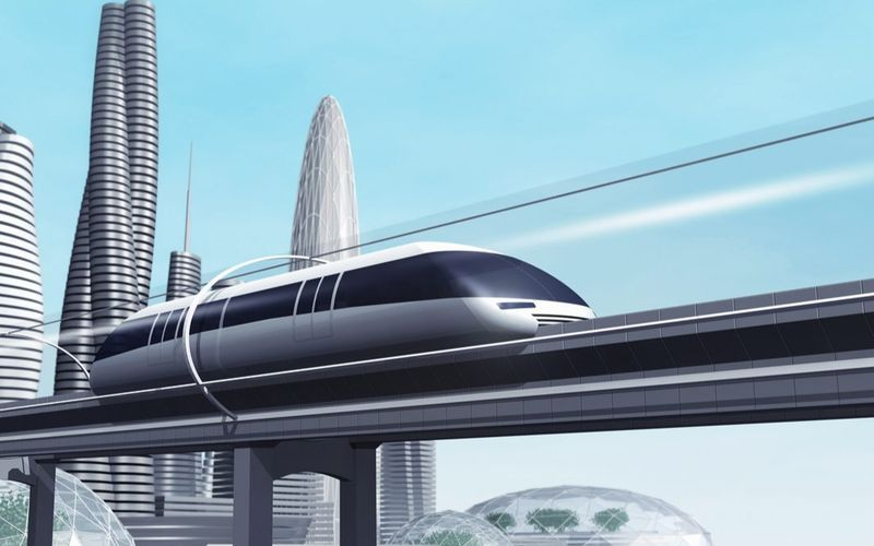 Транспортная капсула Hyperloop