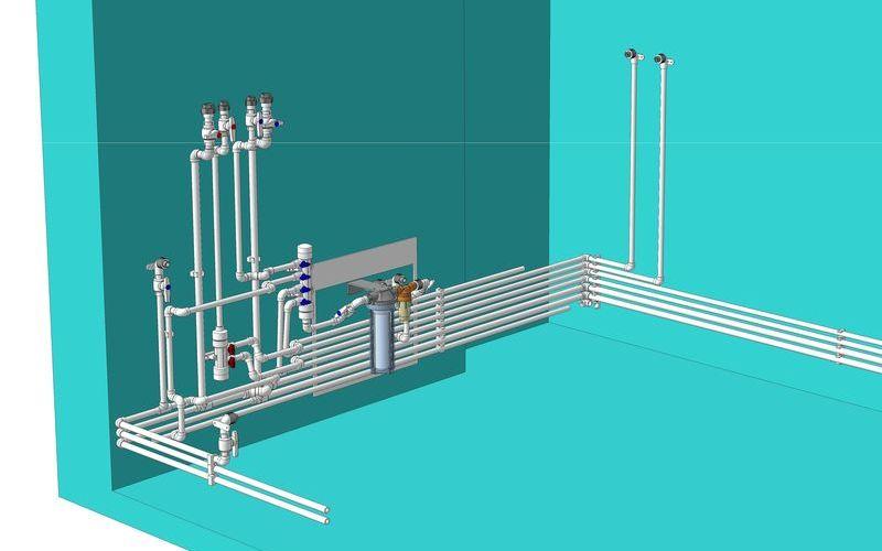 Современный водопровод