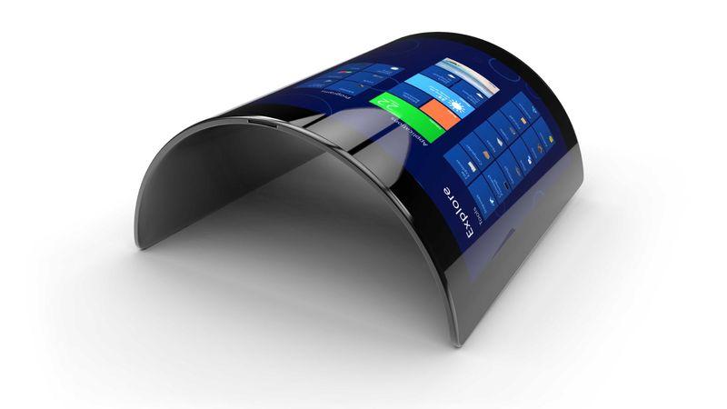 Телефон с гибким экраном