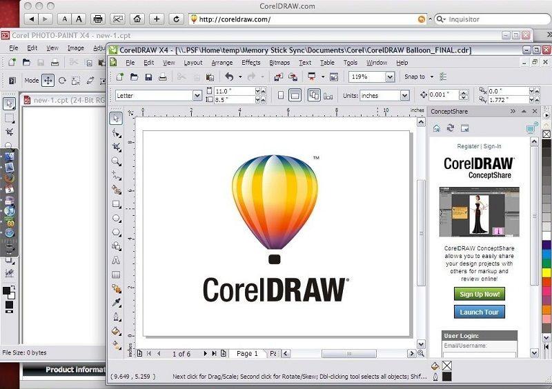 Как работает CorelDRAW