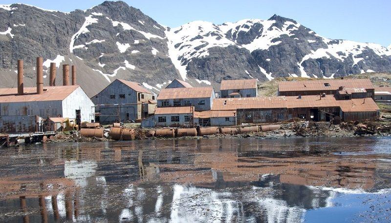 Порт Лейт в Антарктиде