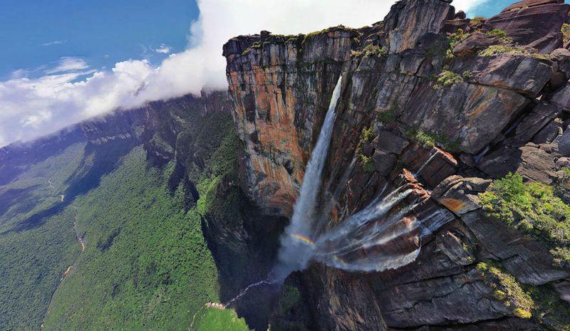 Водопады Анхель