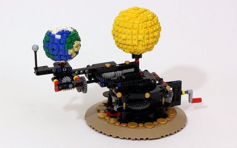 Модель вращения Земли Джейсона Аллеманна