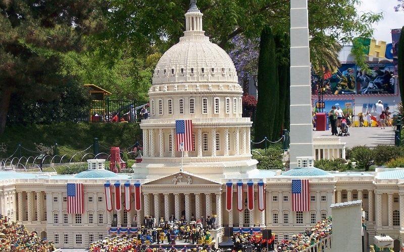 Инаугурация Обамы лего