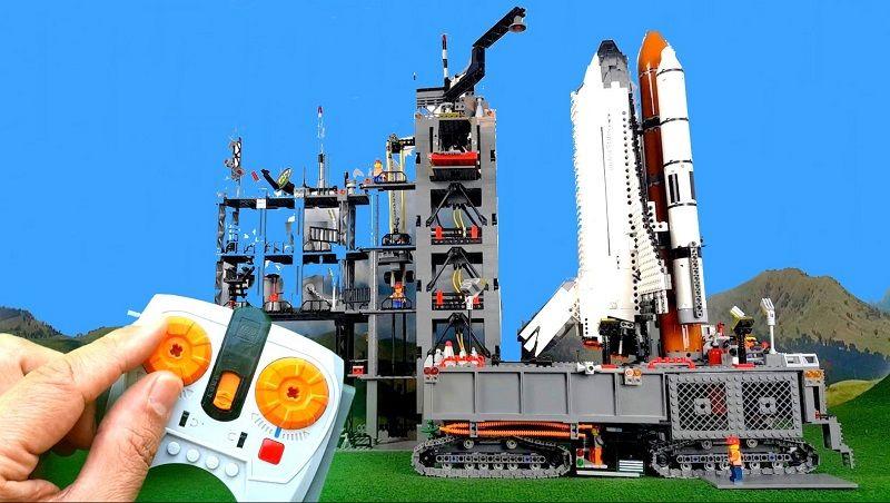Космический шатл Space лего