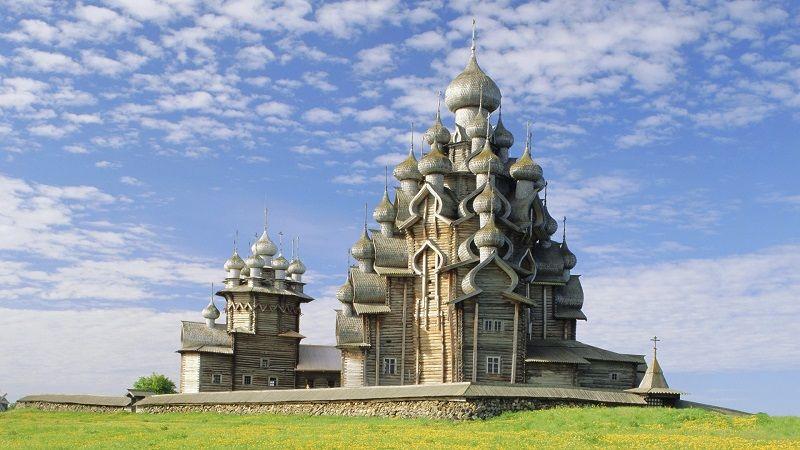 Церковь Преображения Господня, остров Кижи